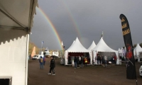 2 arcs en ciel au cross ouest France