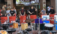 Groupe tambours tendance