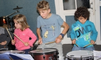 Préparation Fête de la Musique - Répétions école - Caisses Claires - 1 Juin 2016 (5)