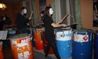 Répétitions à l'école en vue d'un flash-mob (7)