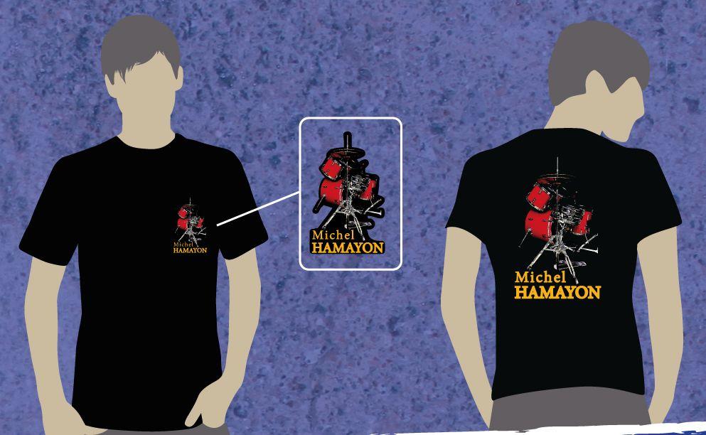 BAT---Tshirts-coeur--Michel-Hamayon